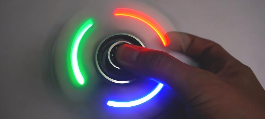 Hilanderos Electrónicos Fidget