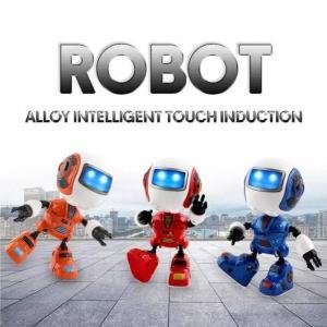 Q2 juego educativo robot inducción táctil