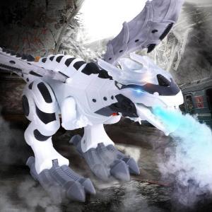 aerosol de juguete de dinosaurio