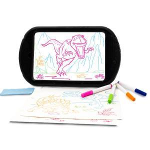 Dinosaurio 3d brillante tableta de dibujo