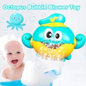 máquina de burbujas de pulpo