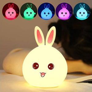 conejo lámpara cambia color sensor táctil