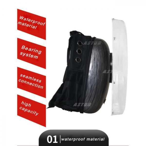 ventilador holograma portátil en saco material de calidad