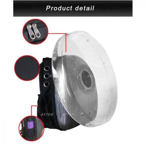 ventilador holograma portátil en saco detalles de producto