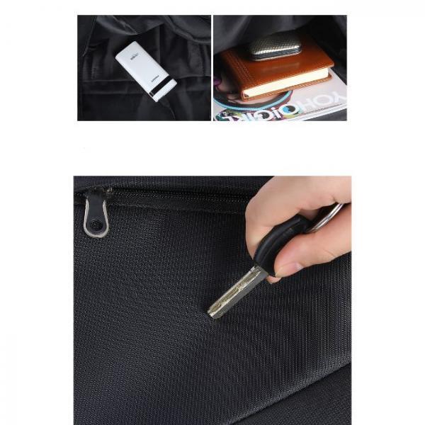 ventilador holograma portátil en saco
