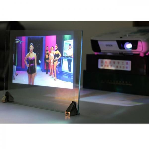 3d film de proyección holográfica aplicaciones