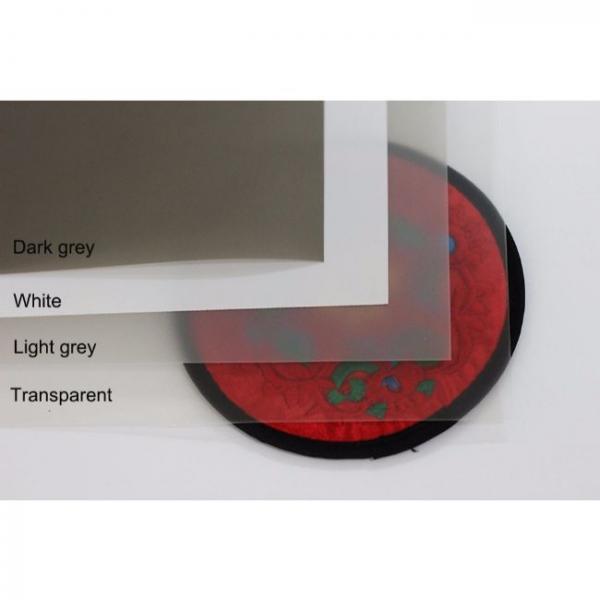 3d film de proyección holográfica colores