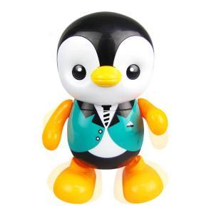 música bailando pingüino de juguete