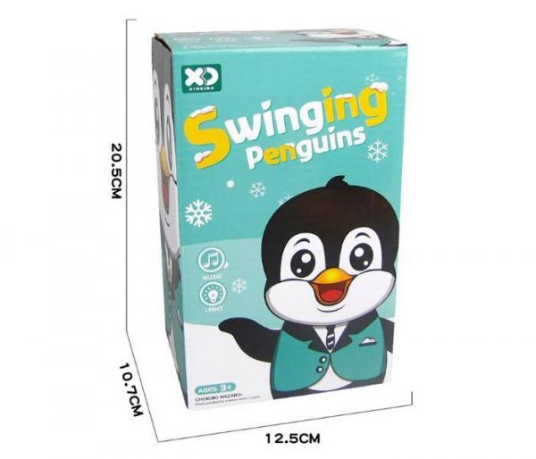 música bailando pingüino de juguete paquete