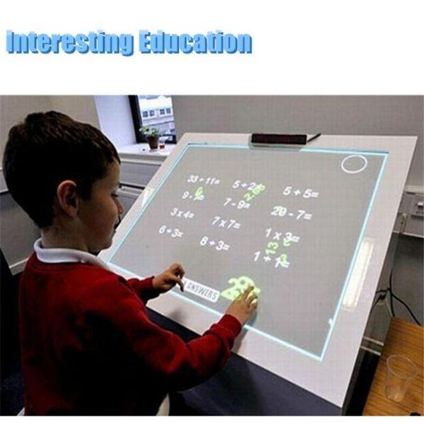 tablero táctil interactivo portátil educativo