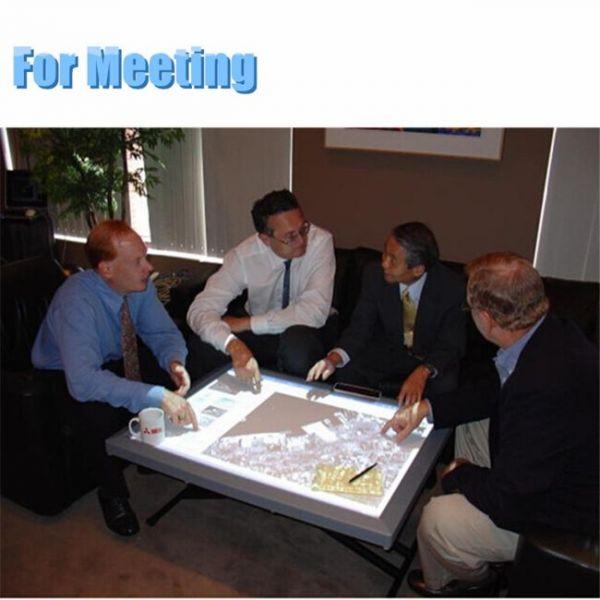 tablero táctil interactivo portátil para reuniones