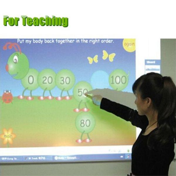 tablero táctil interactivo portátil para enseñar
