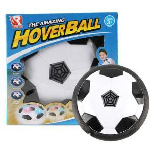 disco de fútbol con luces levitando paquete