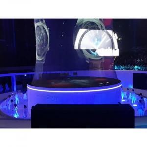 malla de holograma plegable para animaciones 3d
