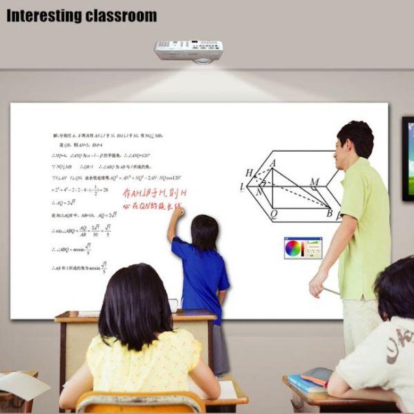 pizarra táctil inteligente enseñanza en el aula