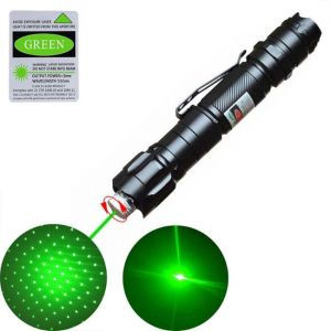 Bolígrafo láser verde de 10 millas - Verde