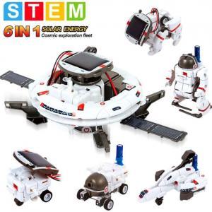 Kit de robot solar educativo 6 en 1 de STEM