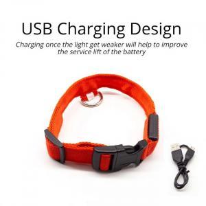 Collar de Perro Led Antipérdida Cargado por USB