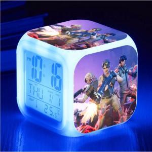 Reloj digital con cambio de color LED Battle Royale