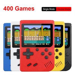 Consola de juegos portátil retro de 8 bits con 400 juegos incorporados
