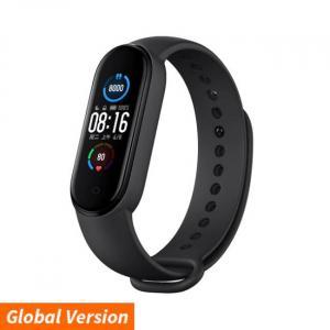 Reloj inteligente de salud AMOLED Xiaomi Mi Band 5 negro