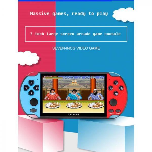 Potente consola de juegos portátil que admite juegos de PS1 y SNES con pantalla grande