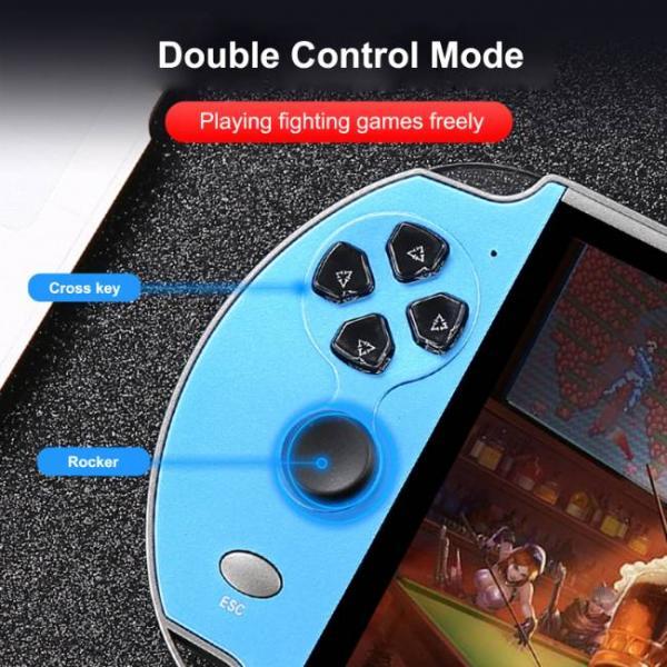 Potente consola de juegos portátil que admite juegos de PS1 y SNES que puedes jugar juegos fácilmente
