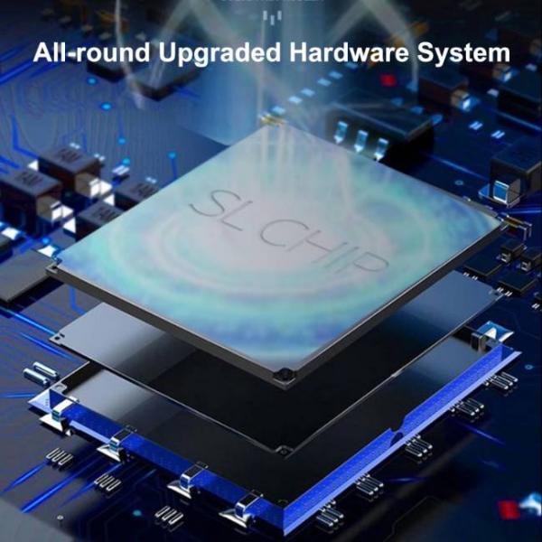 Potente consola de juegos portátil que admite juegos de PS1 y SNES con un potente procesador de hardware