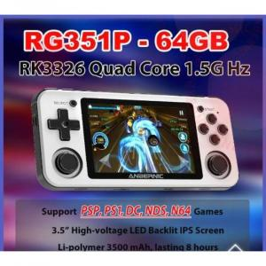 consola de juegos portátil con juegos PS1 y N64 y gran capacidad de memoria