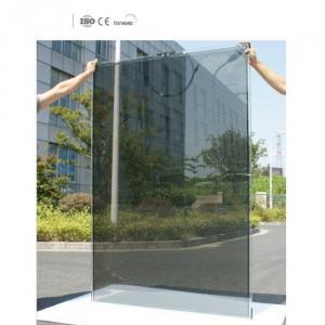 Película de panel solar transparente con alta absorción.