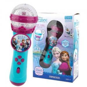 Frozen 2 Micrófono de Karaoke Estéreo Portátil con Música - Paquete