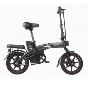 Bicicleta eléctrica A5 con alto kilometraje y fácilmente plegable