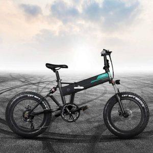 Bicicleta eléctrica Fiido M1 Pro con neumáticos grandes y alto kilometraje