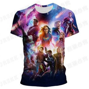 Avengers 3d printed t-shirt in low price