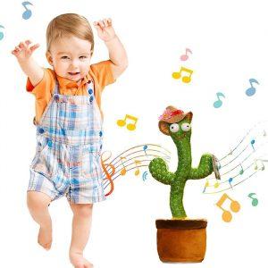 cactus hablando y bailando que harán bailar a tus bebés