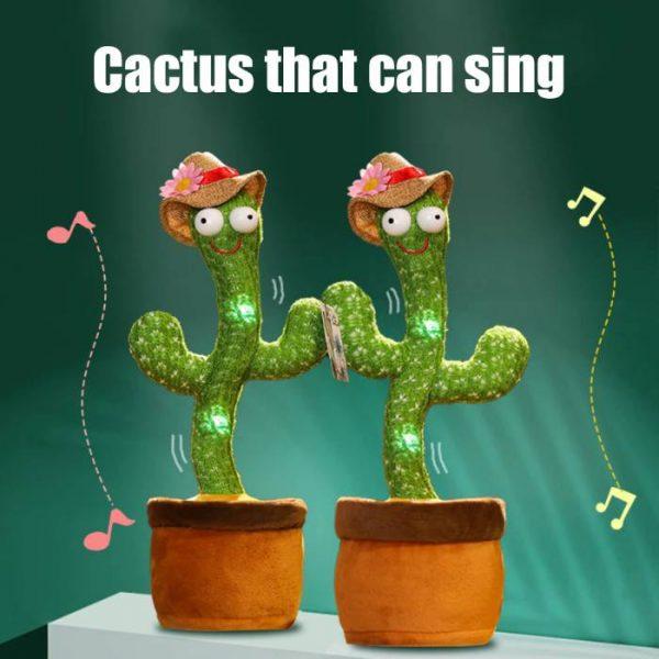 cactus que habla y baila que puede cantar