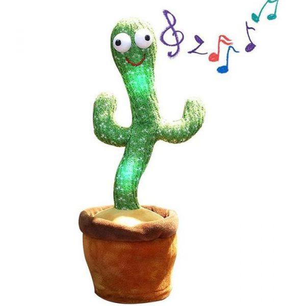 hablando y bailando cactus con muchas canciones.