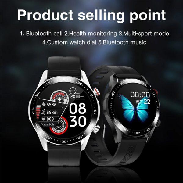 reloj inteligente deportivo completamente impermeable con venta de productos