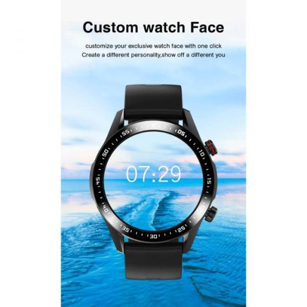 reloj inteligente deportivo completamente impermeable con esfera de reloj personalizada