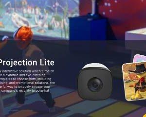 innovador sistema interactivo con cámara y sensor